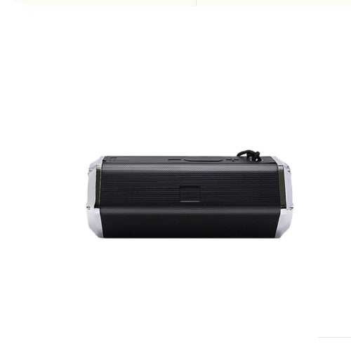 Stereo Bluetooth Wireless Speaker With Hanging Strap Black/Silver