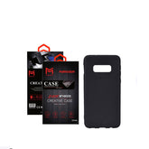 Anti-Sweat Protective Case Cover For Samsung Galaxy S10 Black 6.1 inch