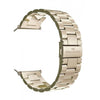 18K Gold Plated Buckle Watch Band Rose Gold 42 millimeter