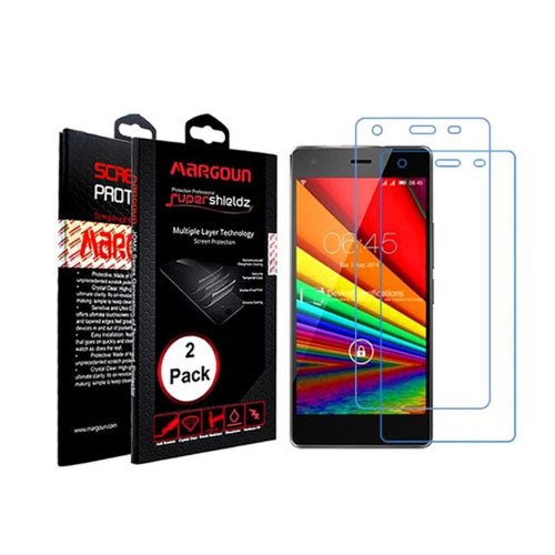 Margoun 2 Pack Screen Protector for Infinix Zero 2 X509 (5.0 inches) Clear