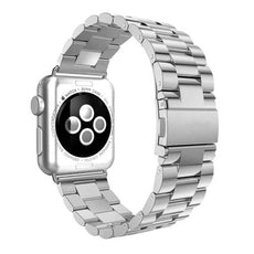 Axel Adapter Replacement Band For Apple Watch 38 mm Silver