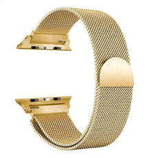 Milanese Loop Band For Apple Watch Gold 42 millimeter