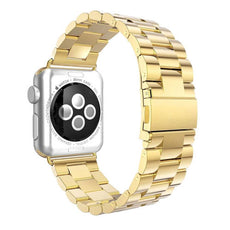 Axel Adapter Replacement Band For Apple Watch 38 mm Gold