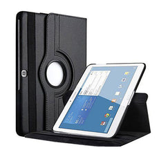 Margoun Rotating Pu Case Cover For Samsung Galaxy Tab 4 10.1 Inch With Screen Protector