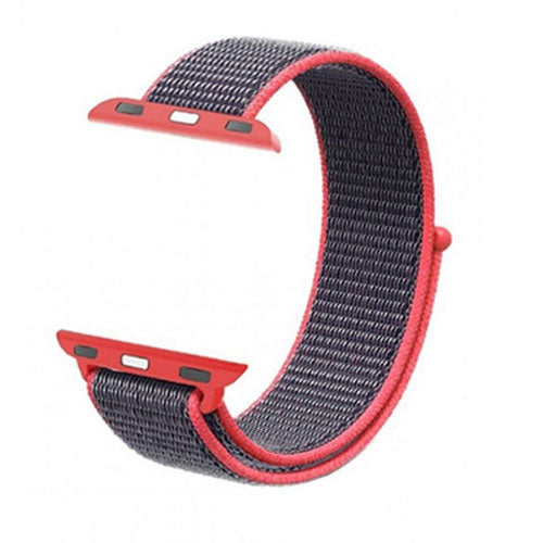 Sport Loop Replacement Strap For Apple iWatch Pink 42/44 millimeter