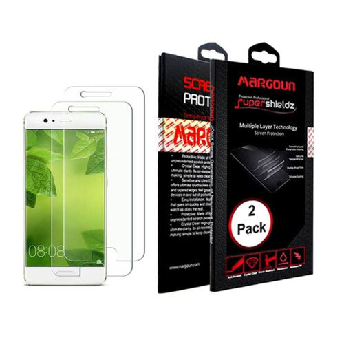 Margoun Protective Screen Protector - 2 Pack Full Cover for Huawei P10