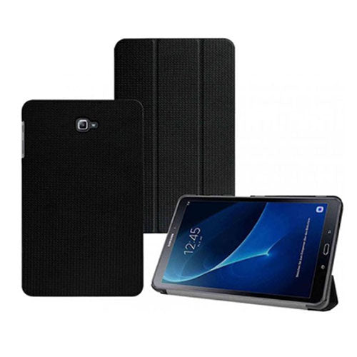 Samsung Galaxy Tab A 10.1 T580/ T585 Only, Foldable Protective Case Cover In Black