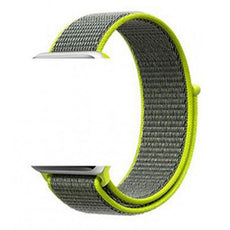 Sport Loop Replacement Strap For Apple iWatch Green 38/40 millimeter