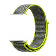 Sport Loop Replacement Band For Apple Watch Green 42/44 millimeter