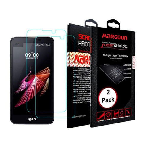 Margoun 2-Pack For LG X Screen Screen Protector