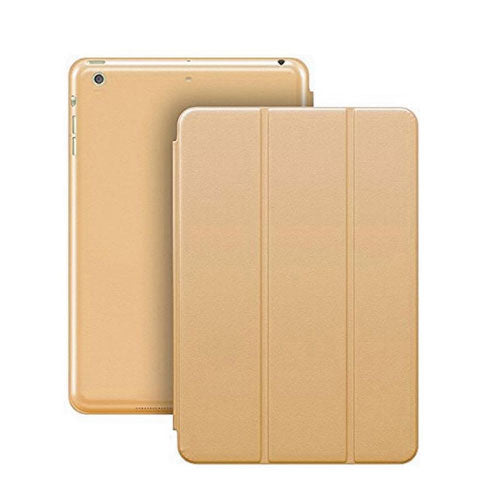 Margoun Tri-Fold Slim Leather Smart Case For Apple Ipad 2, 3, 4 - Gold