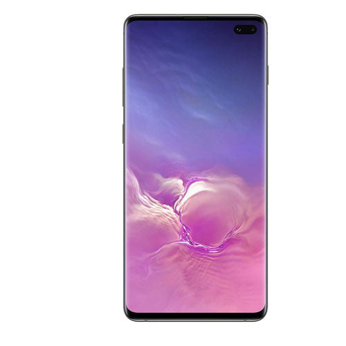 Samsung Galaxy S10 Plus Dual Sim - 1TB, 12GB RAM, 4G LTE, Ceramic Black