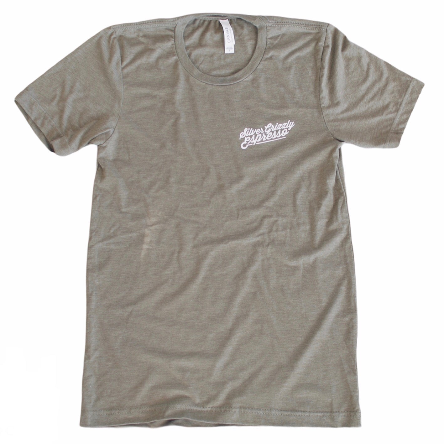 Minimal T-shirt in Olive