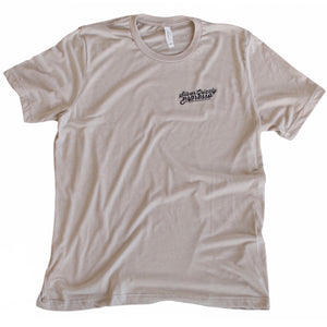 Minimal T-shirt in Tan