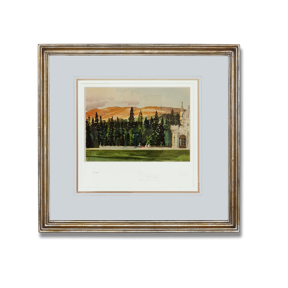 'Balmoral' Limited Edition Framed Lithograph