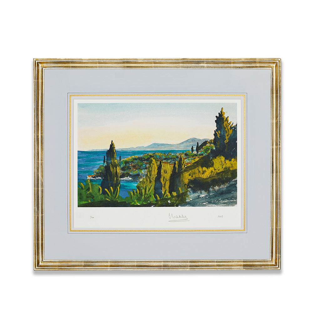 'Corfu' Limited Edition Framed Lithograph