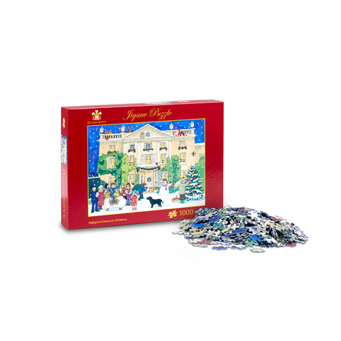 'Highgrove House at Christmas' Jigsaw Puzzle
