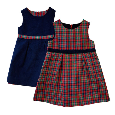 Reversible Tartan Dress
