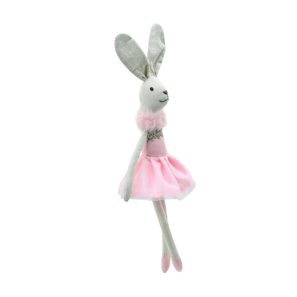 Wilberry Pink Dancing Rabbit Cuddly Toy