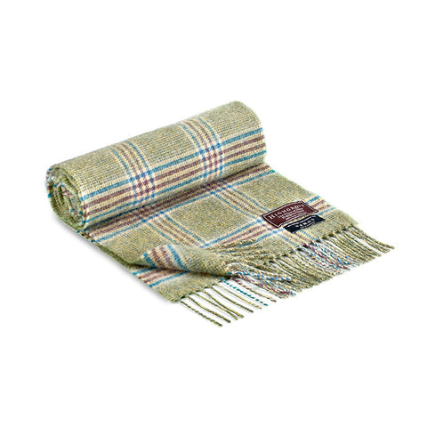 Prince of Wales Check Wool Scarf