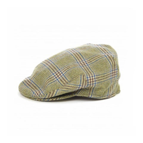 Prince of Wales Check Flat Cap