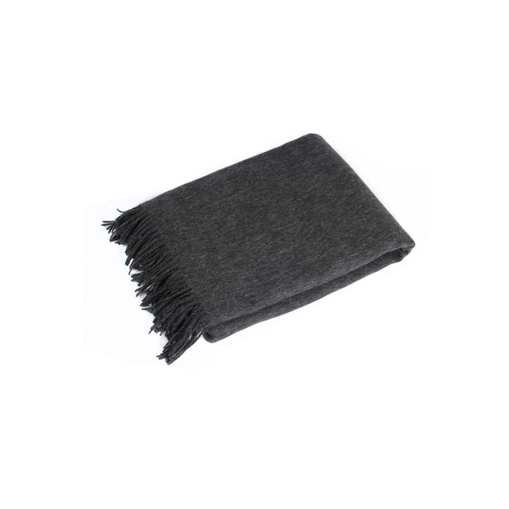 Charcoal Lambswool Wrap