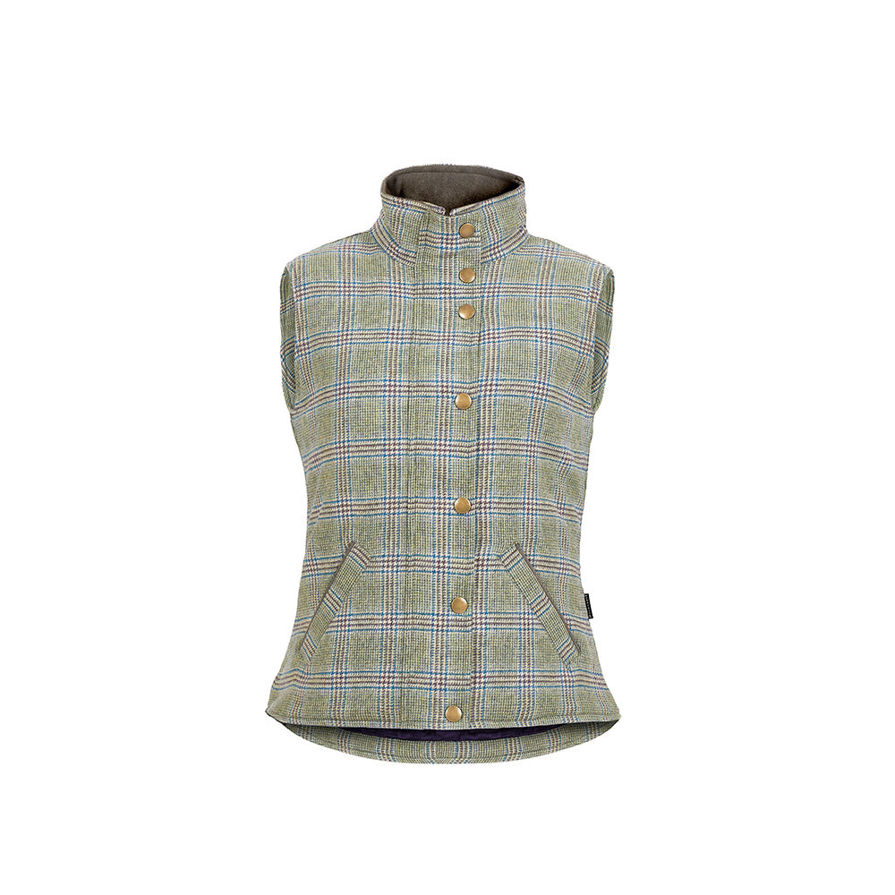 Prince of Wales Check Ladies Gilet