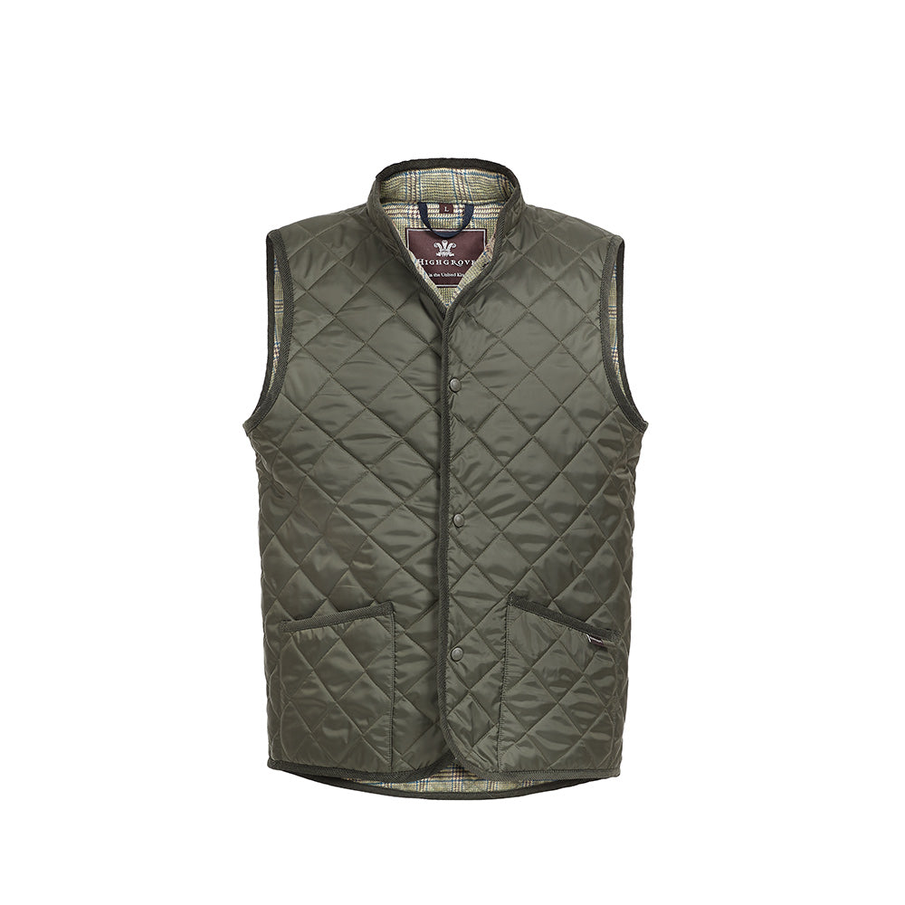 Sherston Men's Quilted Gilet