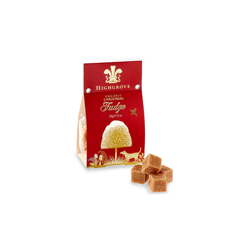 Highgrove Organic Christmas Fudge Bag