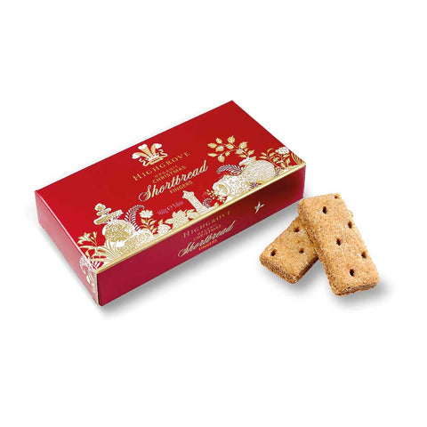 Highgrove Organic Christmas Shortbread