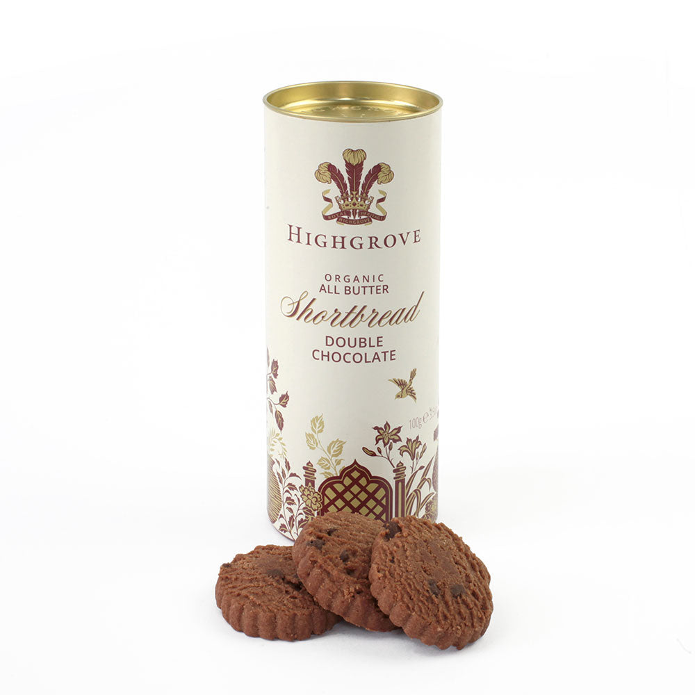 Highgrove Organic Double Chocolate Shortbread