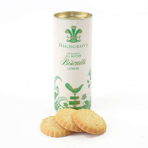 Highgrove Organic Lemon Biscuits