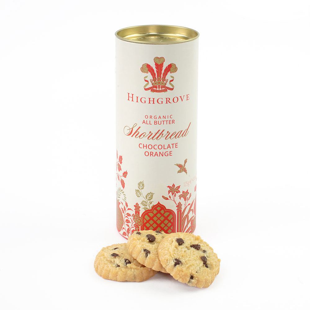 Highgrove Organic Chocolate and Orange Shortbread