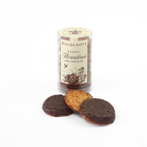 Highgrove Organic Dark Chocolate Florentines