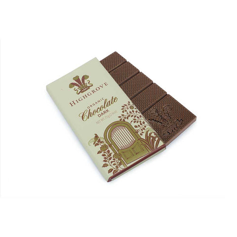 Highgrove Organic Dark Chocolate Bar