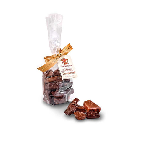 Milk & Dark Chocolate Covered Honeycomb Bag