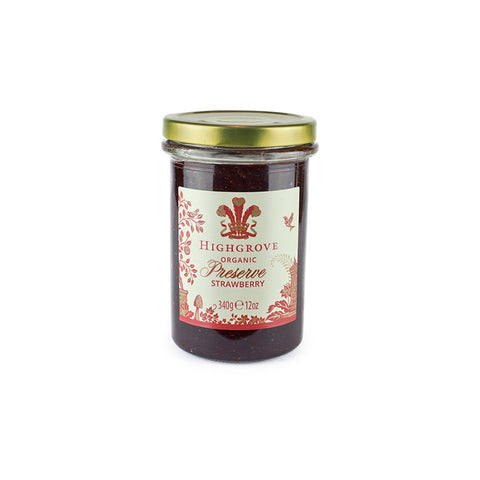 Highgrove Organic Strawberry Preserve