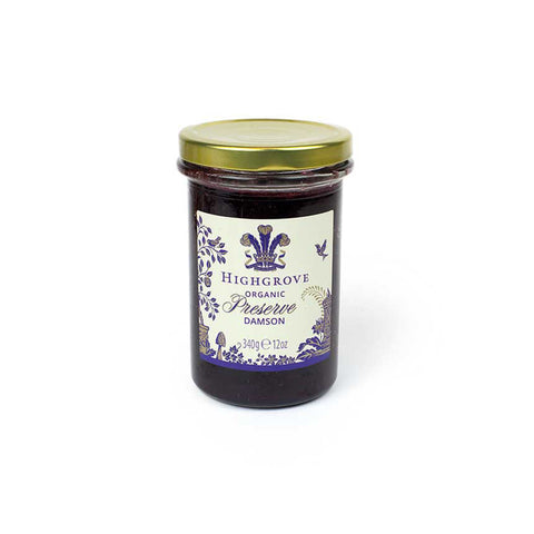 Highgrove Organic English Damson Preserve