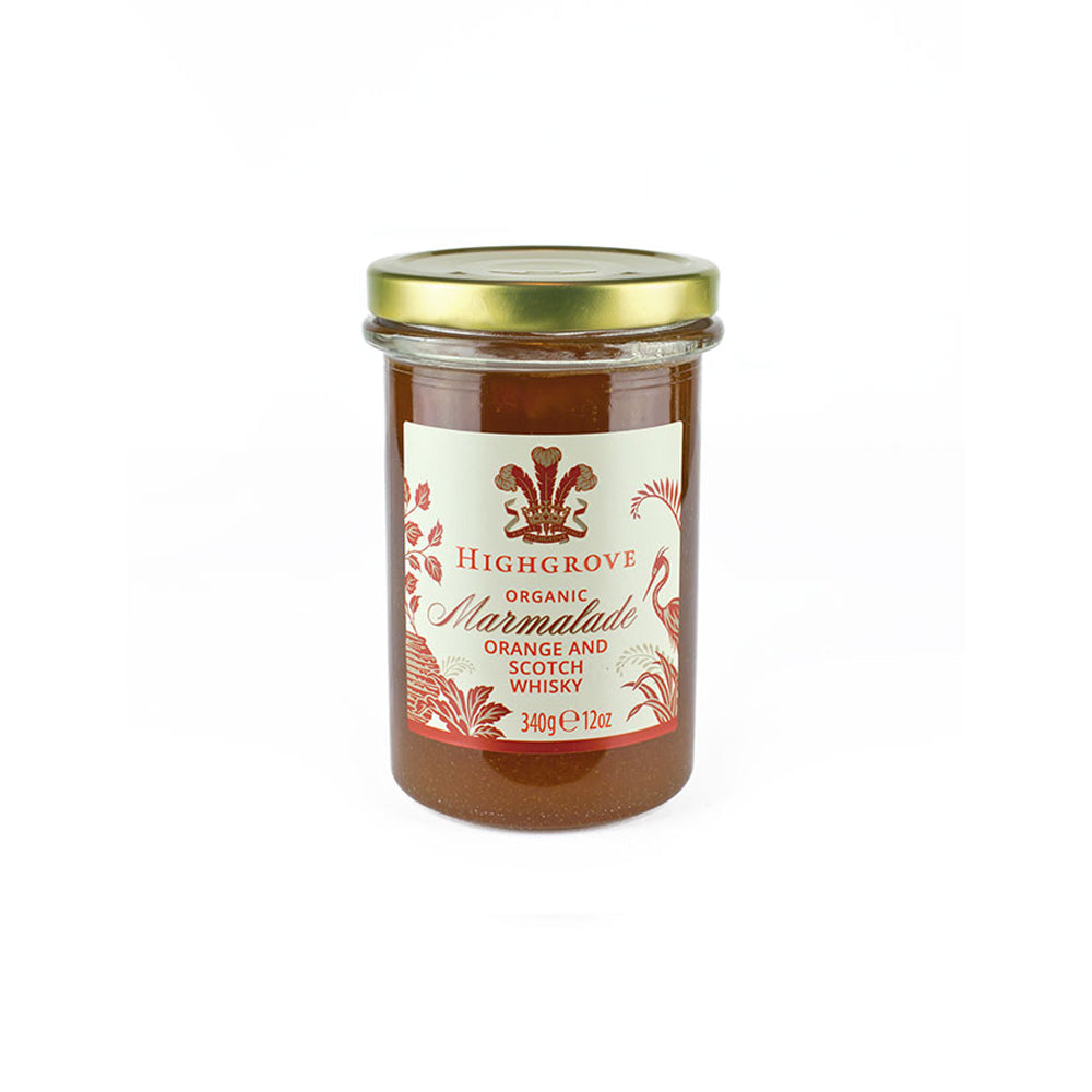 Highgrove Organic Orange and Scotch Whisky Marmalade