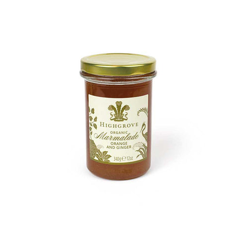 Highgrove Organic Marmalade with Ginger