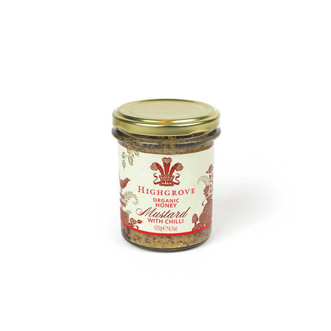 Highgrove Organic Honey Mustard With Chilli