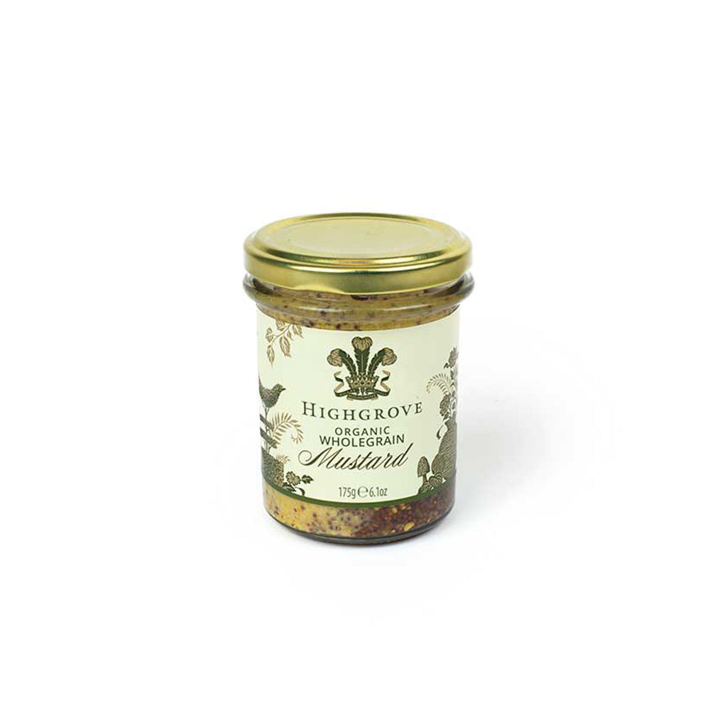 Highgrove Organic Wholegrain Mustard
