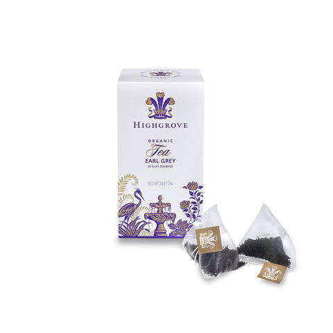 Highgrove Organic Earl Grey Tea Bags