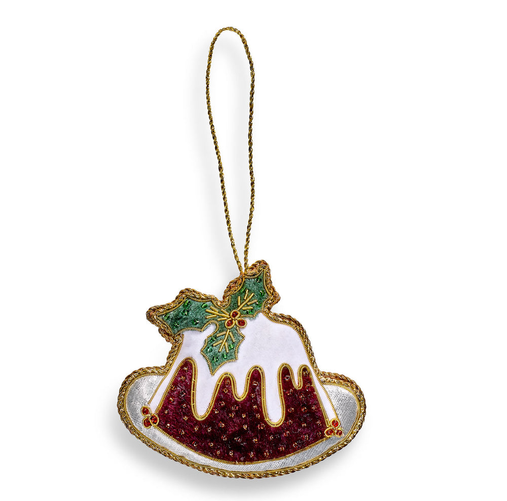 Christmas Pudding Hanging Decoration