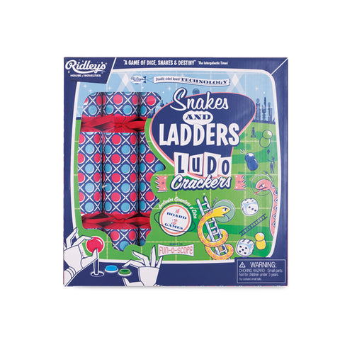 Ridley's Snakes and Ladders Ludo Crackers