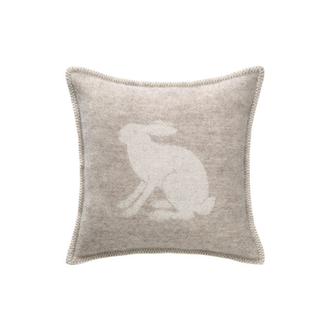 Lambswool Hare Cushion