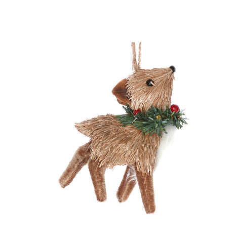 Bristle Deer Baby Decoration