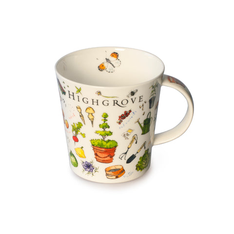 Kitchen Garden Vegetable Mug