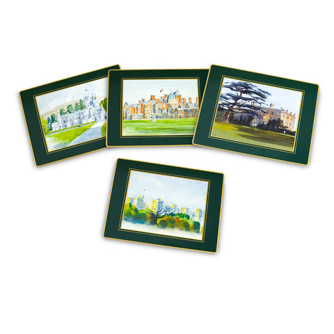 Royal Residences Place Mats - Set of four