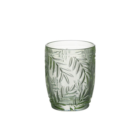 Green Palm Leaf Tumbler